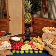 Fruit, Vegetables, and Cheese Station