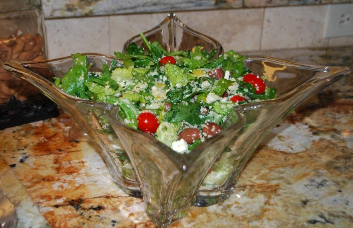 Mediterranean Salad with Couscous