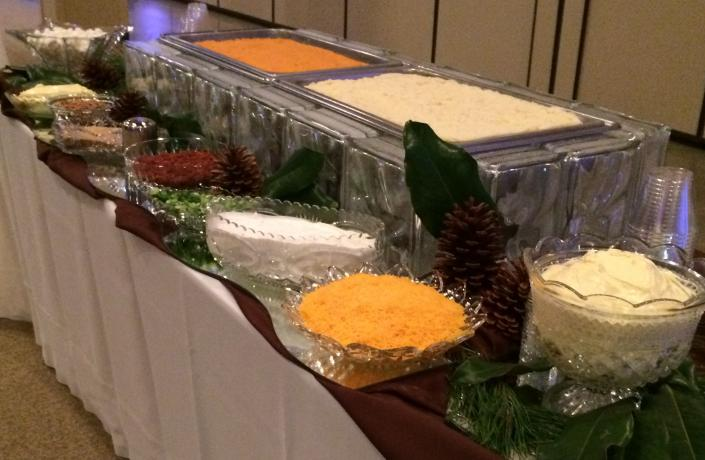 Mashed Potato Bar - Wedding Catering Photos
