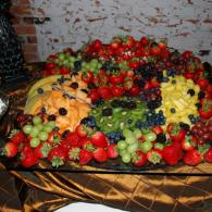 Fruit display.