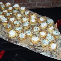 Potato Nests with a Variety of Fillings